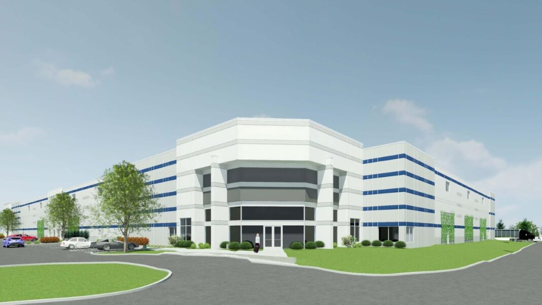 HSA Commercial Real Estate's planned Cudahy warehouse. Rendering courtesy of HSA Commercial