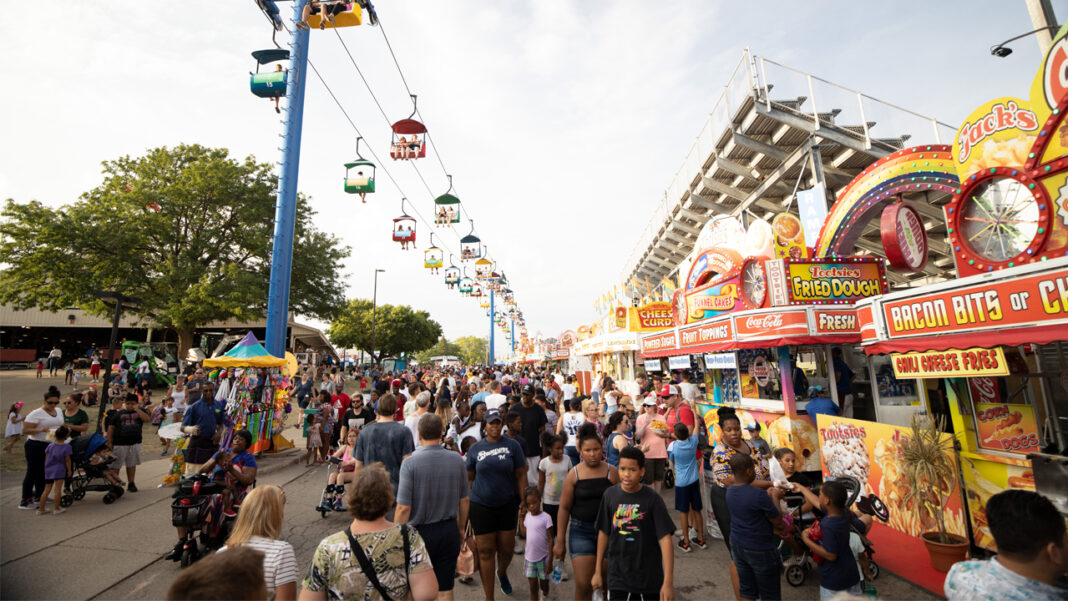 The Wisconsin State Fair is set for Aug. 5-15 at the fairgrounds in West Allis.