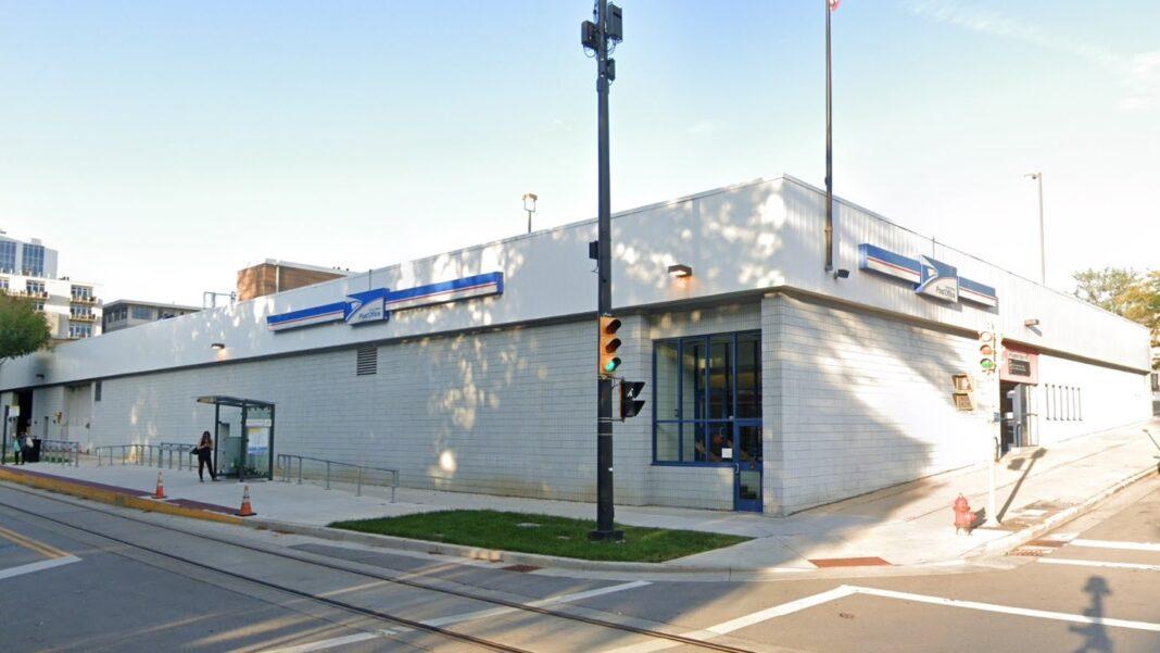USPS building at 606 E. Juneau Ave. Credit: Google
