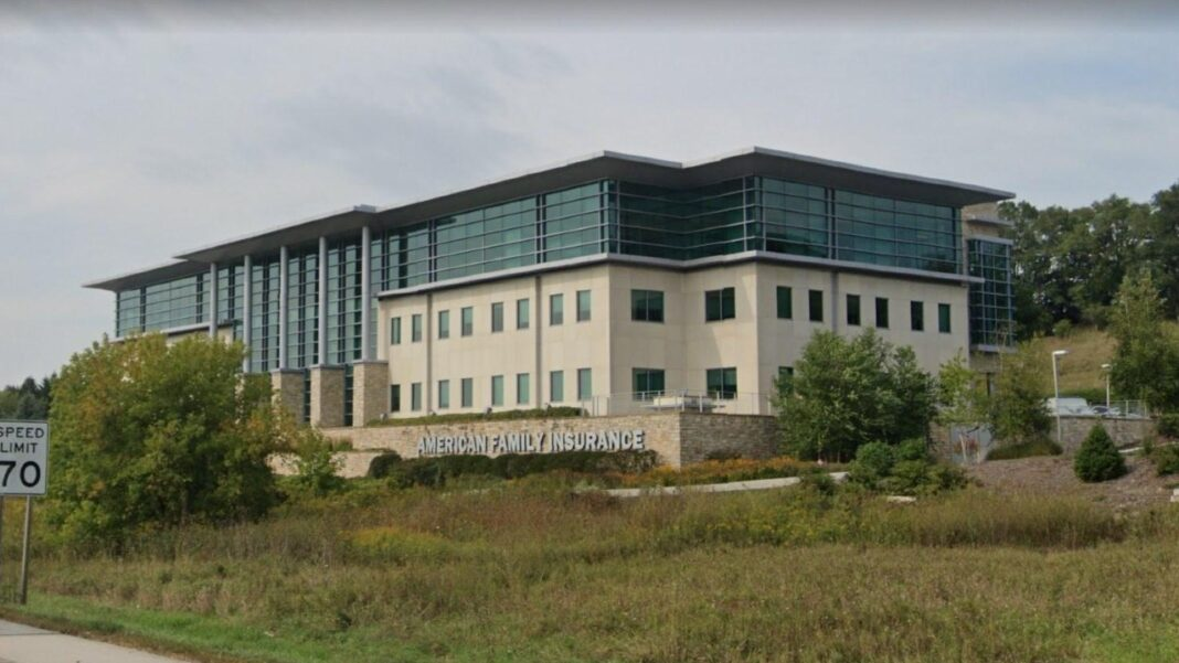 Generac purchased the former American Family Insurance office building along I-94 in Pewaukee. Image from Google.