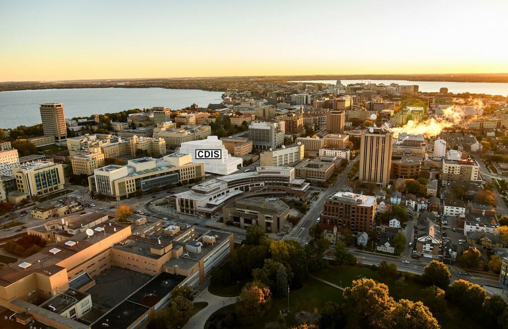Construction of a new 300,000-square-foot facility for the University of Wisconsin–Madison's School of Computer, Data & Information Sciences, which will be located northeast of West Johnson and North Orchard streets, is scheduled to begin in 2023 and be completed by the end of 2024.