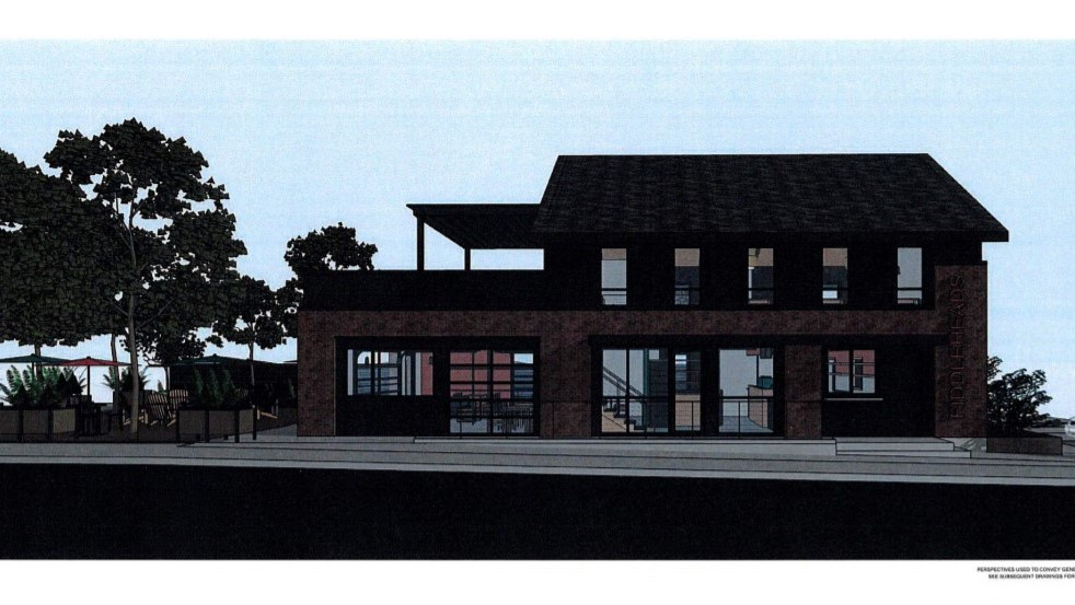 Fiddleheads café on North Avenue, Wauwatosa. Rendering: Galbraith Carnahan Architects