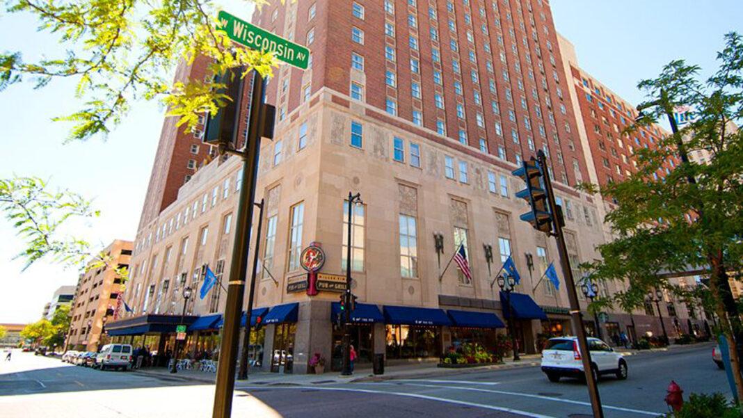 Hilton Milwaukee City Center in downtown Milwaukee.