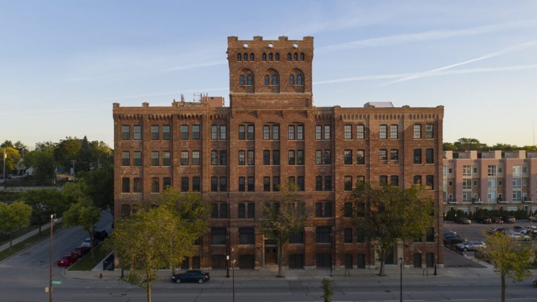 Milwaukee Fortress building. Photo courtesy of The Alexander Co.