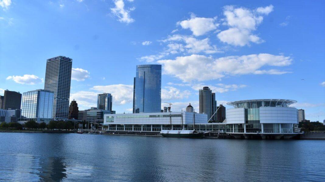 Downtown Milwaukee lakefront
