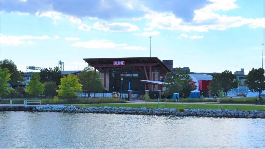 Uline Warehouse stage at Henry Maier Festival Park grounds, home of Summerfest