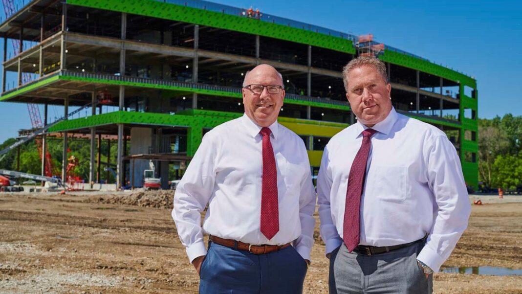 Rick Schmidt and Eric Schmidt, of CG Schmidt.