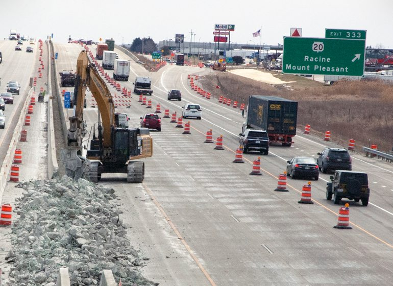 Foxconn sends I-94 work into overdrive in Racine County