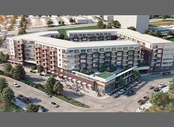 A rendering of Park East Block 22.