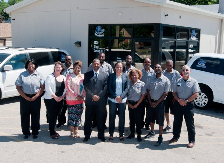 The Able Access Transportation team