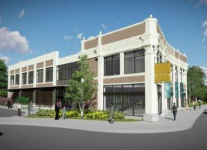 Rendering of new Bader Philanthropies headquarters