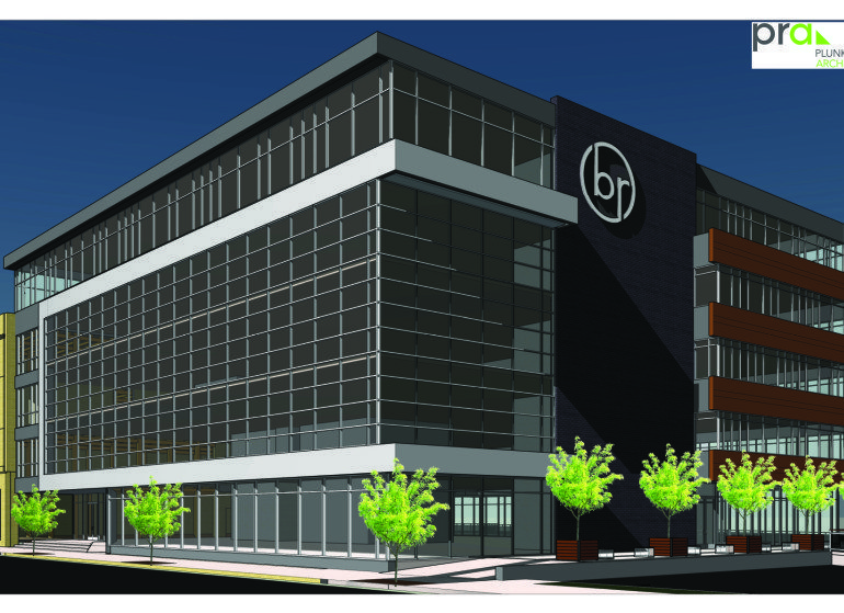 Bader Rutter will move its headquarters to an office building development planned at the former Laacke & Joys site in downtown Milwaukee.