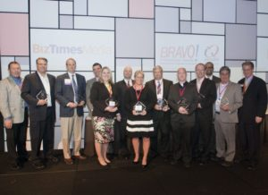 Winners at the 2015 Bravo! I.Q. Awards.