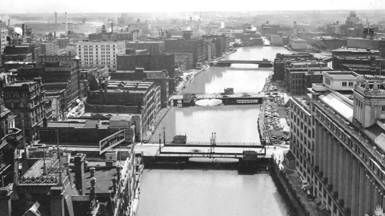 Glance at Yesteryear: Milwaukee River views