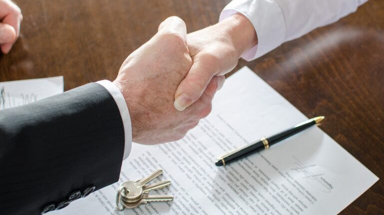 Commercial real estate deal