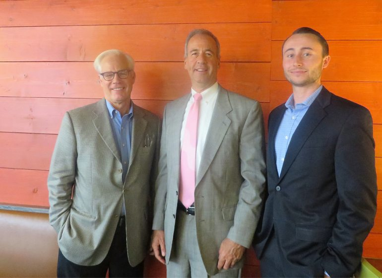 Bill Bonifas, Steve Palec and Ben Anderson.