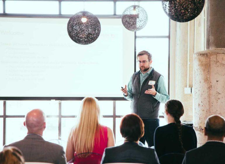 Matt Cordio, co-founder and president of Startup Milwaukee