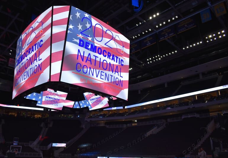DNC 2020 will be held at Fiserv Forum.