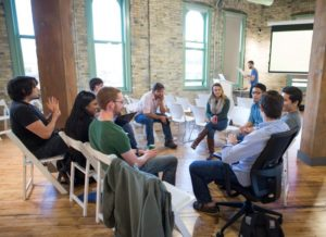 College students in The Commons prototype an entire business in one intensive weekend.