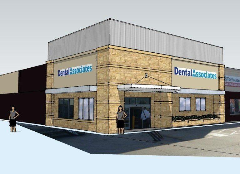 Dental Associates Miller Park Way Rendering