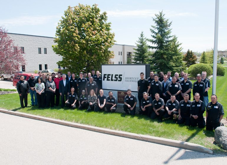 The Felss Rotaform team.