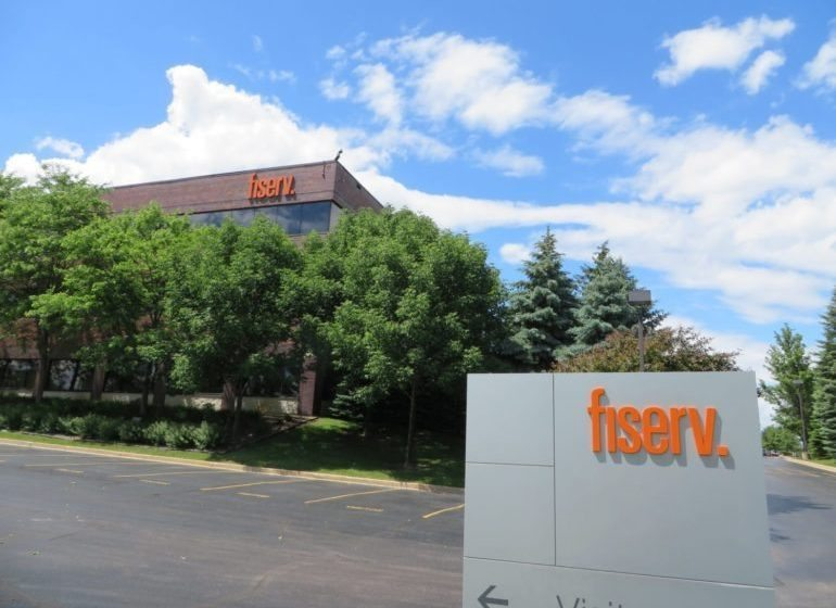 The Fiserv headquarters in Brookfield.