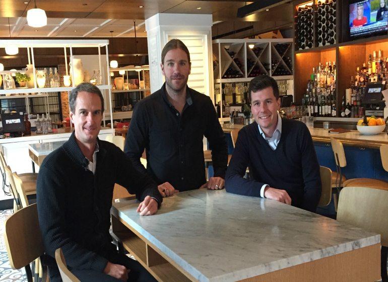 HKS Holdings principals Kyle Strigenz, Tyler Hawley, Joe Klein