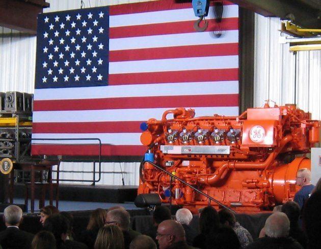 GE Power engine in Waukesha