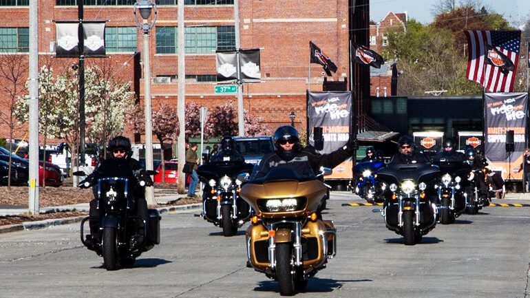 Problems for Harley-Davidson include difficulty modeling future demand