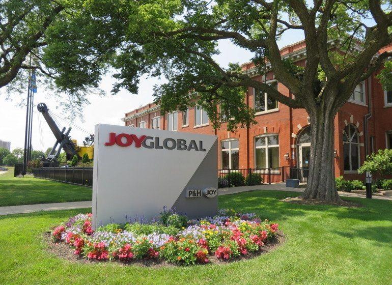 Joy Global to be acquired by Komatsu America