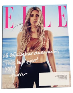 Quad/Graphics technology adds personalized cover messages for ELLE subscribers