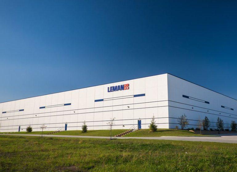 Expanded Leman building in Sturtevant.