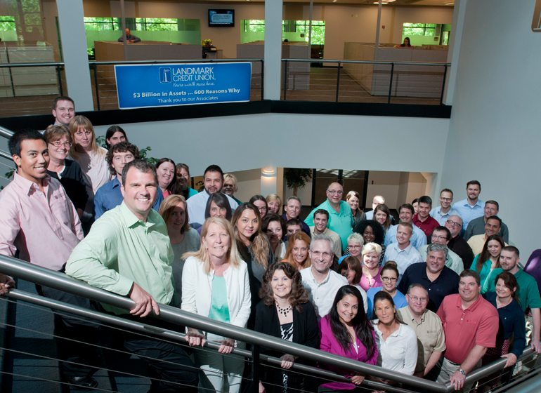 The Landmark Credit Union team.