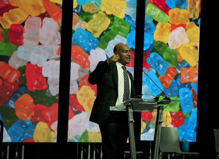 Wes Saber, Haribo of America chief financial officer.