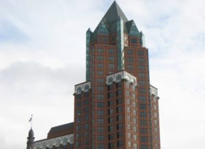 Associated Bank has purchased the Milwaukee Center.