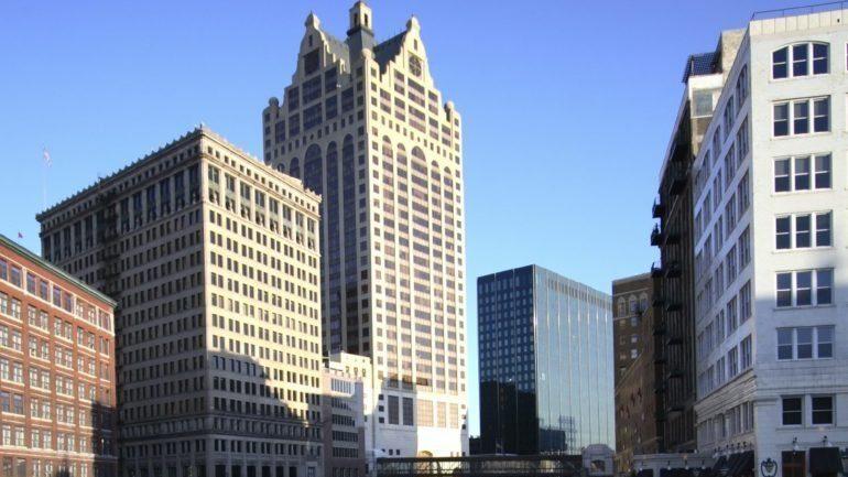 Milwaukee Riverfront Skyline
