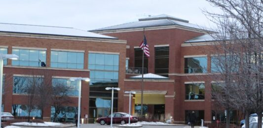 The Wipfli headquarters is located in this building in Wauwatosa