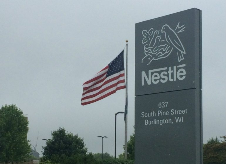 The Nestle plant in Burlington.