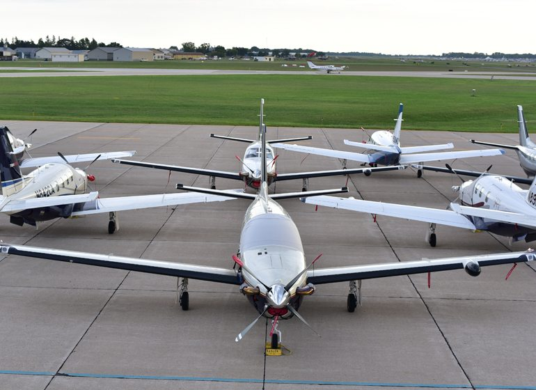 Oshkosh has created a business park focused on the aviation industry.