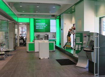 One of Associated's new high-tech branches in Milwaukee's Historic Third Ward.