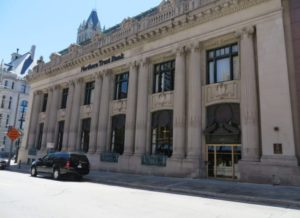 Northern Trust Bank's downtown Milwaukee office.