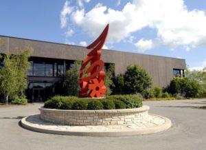 Quad/Graphics' Sussex headquarters.