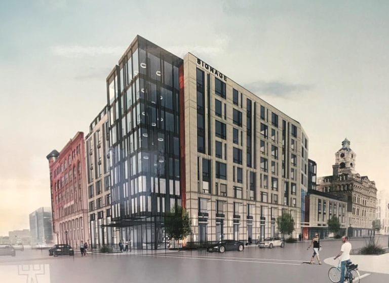 Blending old with new, Jeffers reconfigures plans for Clybourn site