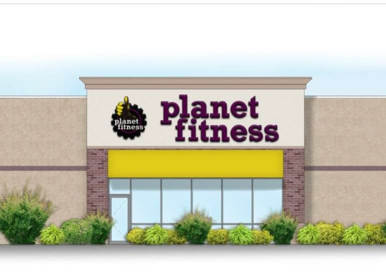 Rendering of the Planet Fitness planned for Regency Mall in Racine.
