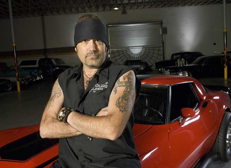 "Danny Koker is the star of the History channel show ""Counting Cars."""
