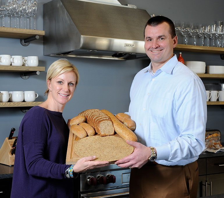Angelic Bakehouse co-founders Jenny and James Marino