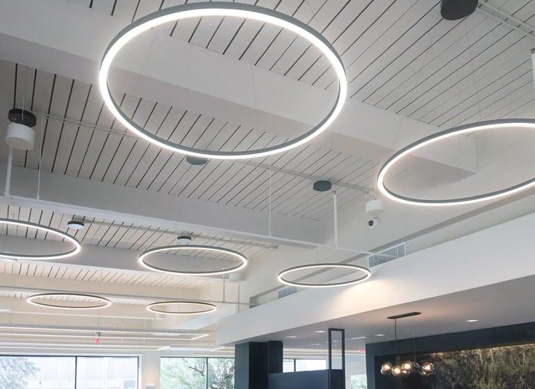 Leds Illuminate New Options In Office Lighting