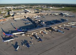 Mitchell International Airport. - Curtis Waltz (www.aerialscapes.com) photo.