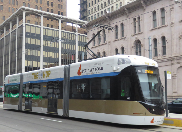 We Energies to sponsor streetcar operations during DNC