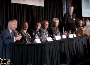 Panel of Top 10 Businesses moderated by Andrew Weiland, editor of BizTimes Media